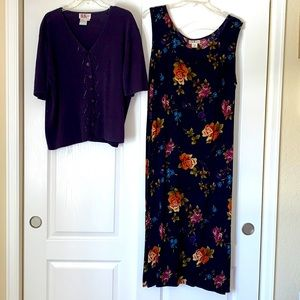R & K Originals Women's - Two Piece Dress